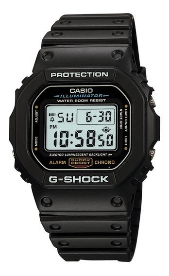 Relogio G-shock Dw 5600e 1vdf Digital Preto