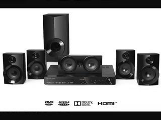 Home Theater Noblex 5.1 Con Reproductor De Dvd Ht2150