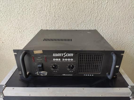 Amplificador Potência Dbs 3000 Ciclotron Wattson