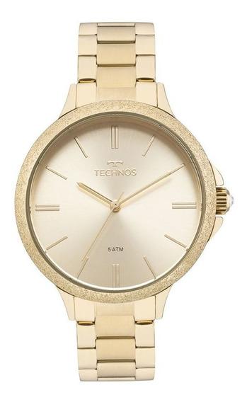 Relógio Technos Feminino Dourado 2035mmc4x