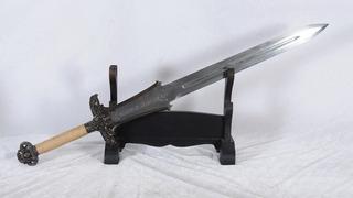 Espada Conan Destroyer Aço 1095 Damasco Afiada Funcional