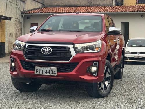Imagem 1 de 3 de Toyota Hilux 2019 2.7 Srv Cab. Dupla 4x4 Flex Aut. 4p