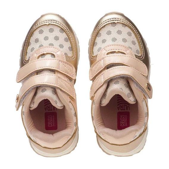 Tênis Infantil Menina Klin Baby Walk Poás