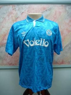 Camisa Futebol Napoli Italia Umbro Antiga 641