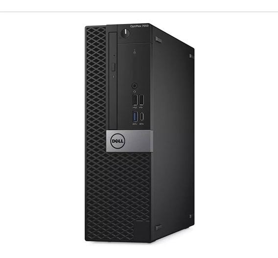 Desktop Dell Optiplex 7050 I5-7500 8gb- Hd 1tera- Novo Caixa