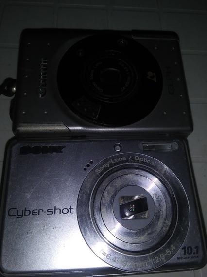 Cámara Fotográfica Sony Ciber Shos.