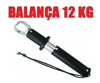 Alicate P/ Pesca Trava Peixe C/ Balança Em Aluminio - 12kg