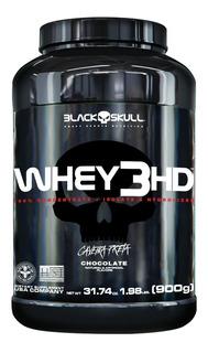 Whey Protein 3hd Caveira Preta 900g Pote - Black Skull