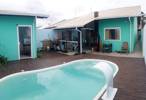 Imagem 1 de 19 de S&t Casa Com 3 Dormitórios À Venda Por R$ 399.000 - São João Do Rio Vermelho - Florianópolis/sc - Ca0077