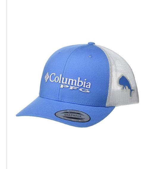 Gorra Columbia Pfg Yatch Dorado Snapback Ajustable