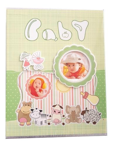 Album Fotos 100 Bebe Tipo Bolsillo Pasta Dura Baby Shower