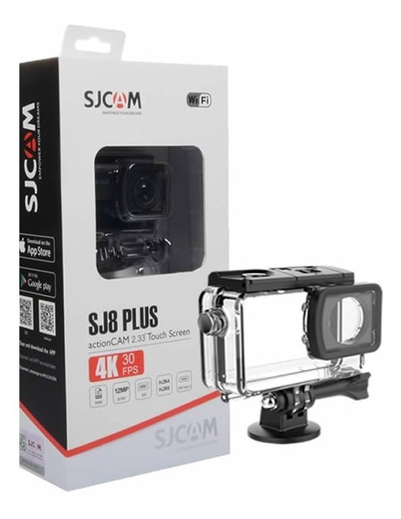 Camera Esportiva Sjcam Sj8 Plus Original - Full Set