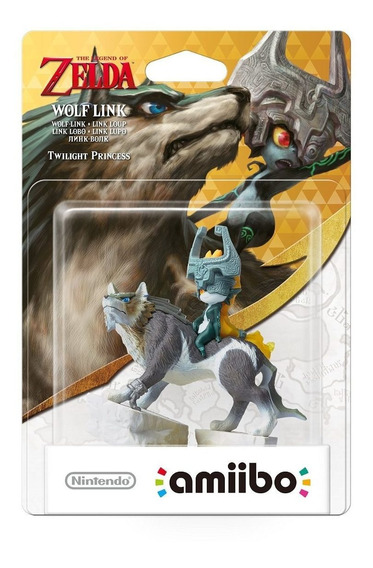 Amiibo Link Wolf Link Lobo Zelda Twilight Breath Of The Wild