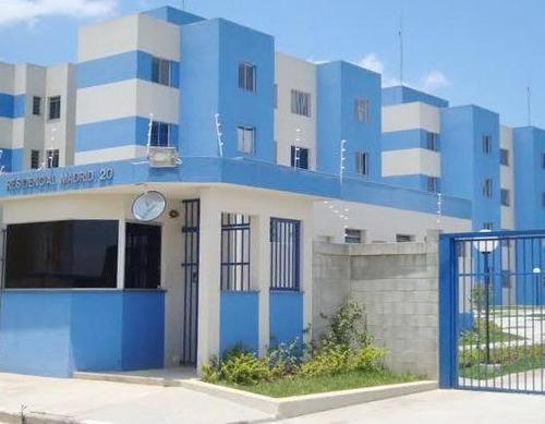 Apartamento Para Venda Em Suzano, Vila Urupês, 2 Dormitórios, 1 Banheiro, 1 Vaga - Ap103_1-1943171