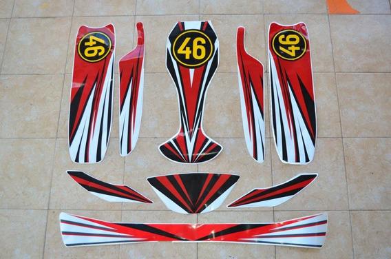 Kit De Calcos Karting Competición