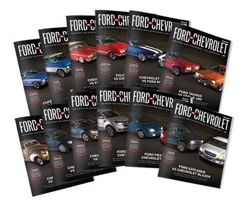 Clarín Colección De Libros Ford Versus Chevrolet