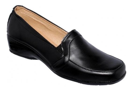 Zapatos Confort Simipiel Negro-mod.0600in5222611