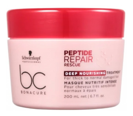 Schwarzkopf Máscara Repair Rescue Deep Nourishing 200ml