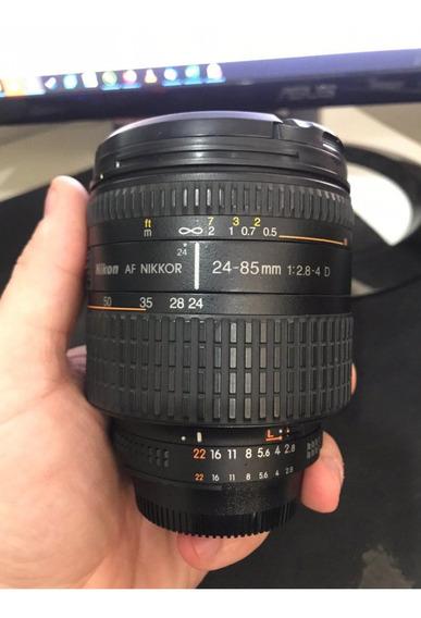 Lente Nikon Af Nikkor 24-85 Macro Fullframe