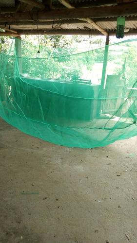 Tanque Rede Criação De Alevinos Malha 1mm Tam. 5x2.40x1.20