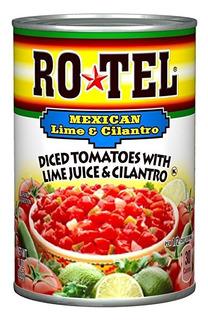 Ro-tel, Tomates Picados, México, 10 Oz Lata (pack De 3)