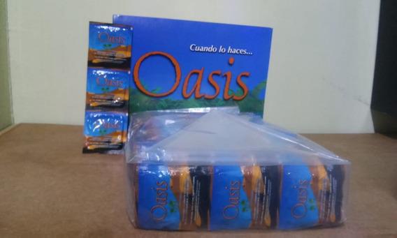 Condones Masculinos Naturales Marca Oasis 288 Pz