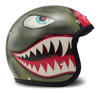 Casco Motociclismo Dmd Vintage Shark
