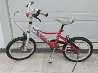 Bicicleta Musseta Nena Rodado 16 Usada