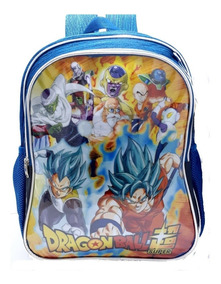 Mochila Dragon Ball Costas Grande + Super Caderno Dbz