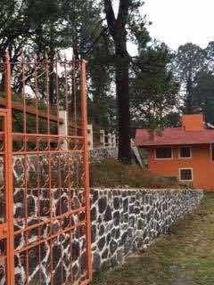 Casa Bosque 1812 Mts Terreno . 2 Recamaras Chimenea Sala Com