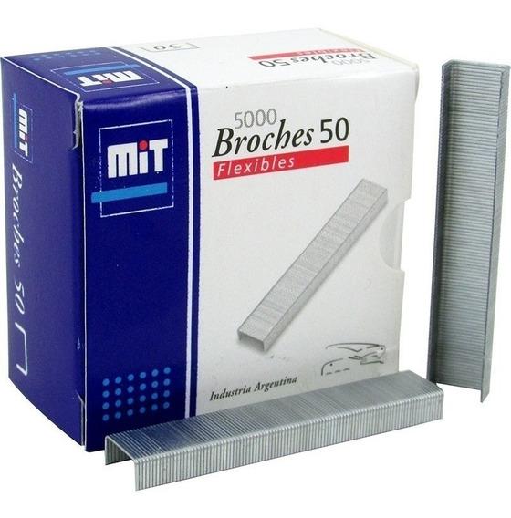 Broches Mit Para Abrochadora Nº 50 X 5000 Un.