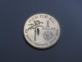 Moeda Trinidade E Tobago (28mm) - Fao - 1 Dollar