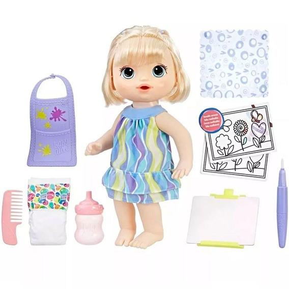 Boneca Hasbro Baby Alive Pequena Artista E0960 Acessórios