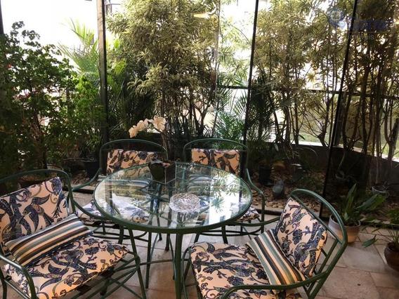 Lindo Apartamento Com 4 Dormitórios À Venda, 300 M² Por R$ 1.600.000 - Morumbi - São Paulo/sp - Ap0605