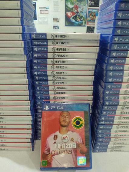 Jogo Fifa 20 Ps4 Original Portugues Lacrado Midia Fisica