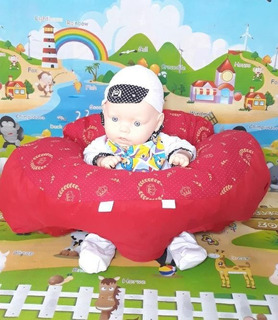 Baby Sit Almofada Senta Bebe Poltrona Conforto Bebe Sentar