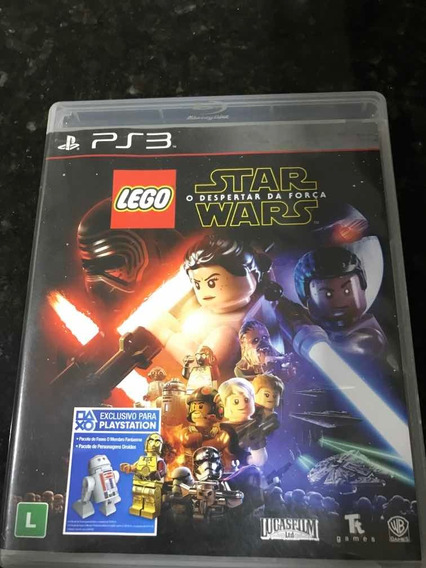 Jogo Ps3 Lego Star Wars Original Mídia Física