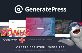 Generatepress Premium Licença Original Ilimitada +ocean Wp