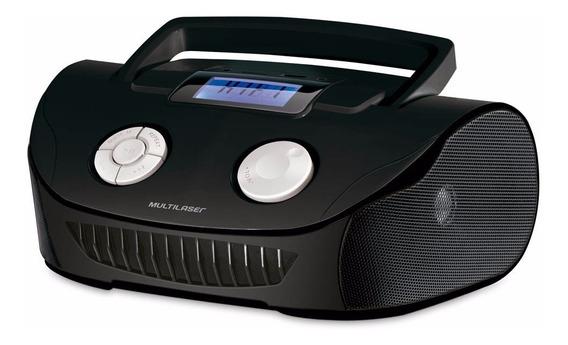 Radio Portatil Mp3 4 Em 1 Fm/aux/pen Drive/cartão Multilase