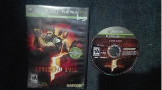 Resident Evil 5 Completo Para Xbox 360,funcionando Perfecto