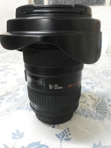Lente Canon 16-35 Lii F2.8