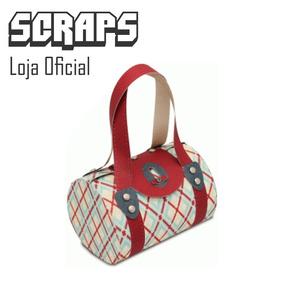 03563b385 #1123 - Caixa Bolsa Bau Cilindrica Bag - Arquivo Silhouette