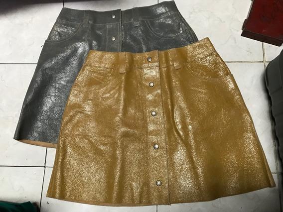Dos Faldas De Piel Diesel Originales Talla L Originales
