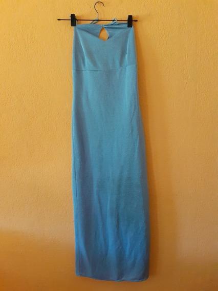 Vestido Largo Lurex Fiesta Sirena