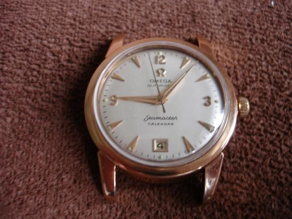Relógio Omega Automatic Seamaster Calendar Ouro 18k Maciço