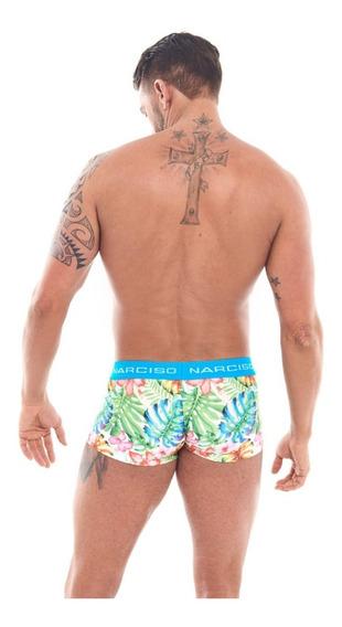 Mini Boxer James Hojas Narciso Underwear