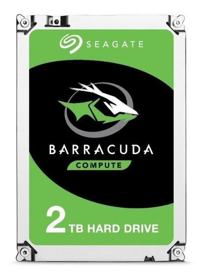 Disco rígido interno Seagate BarraCuda 3.5 ST2000DM006 2TB