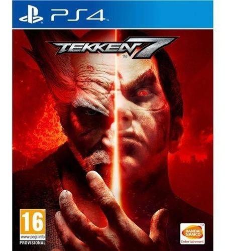 Tekken 7 - Ps4 Mídia Físca Lacrado