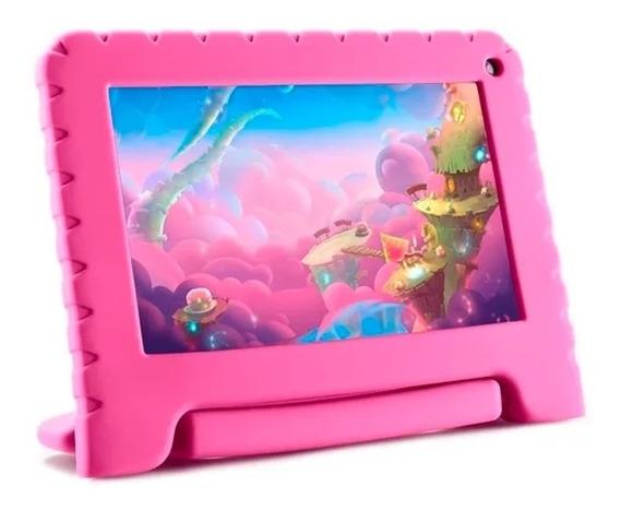 Tablet Infantil Quadcore 1gb Ram 16gb Original Multilaser