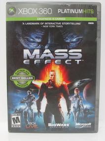 Mass Effect - Game Xbox 360 Original E Completo Mídia Física